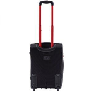 Маленький чемодан (S) Wings 214-2k | тканевый | черный | 52х36х23(+5) см | 37/45 л | 3,05 кг