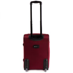 Маленький чемодан (S) Wings 206-2k | тканевый | бордовый | 52х36х23(+5) см | 37/45 л | 3,05 кг