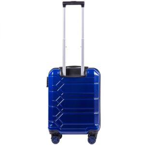 Маленький чемодан (S) на 4 колесах | Wings 185 | поликарбонат | для ручной клади