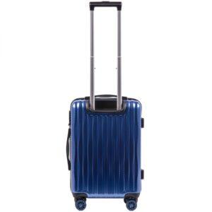 Маленький чемодан (S) Wings 5223 | поликарбонат | синий | 55x40x20 см | 35 л | 2,6 кг