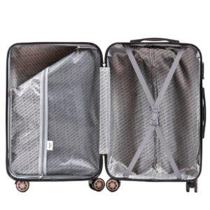 Маленький чемодан (S) на 4 колесах | Wings 175 | поликарбонат | для ручной клади