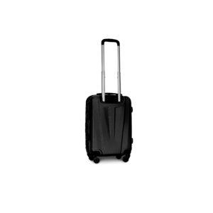 Маленький чемодан (S) Fly 1107 | пластиковый | черный | 55x40x20 см | 35 л | 2,6 кг