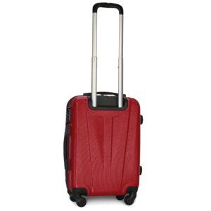 Маленький чемодан (S) Fly 1107 | пластиковый | бордовый | 55x40x20 см | 35 л | 2,6 кг