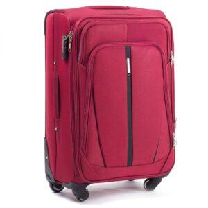 Средний чемодан Wings (M) 1706-4k | тканевый