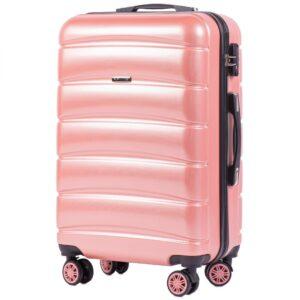 Средний чемодан (M) на 4 колесах | Wings 160 | поликарбонат
