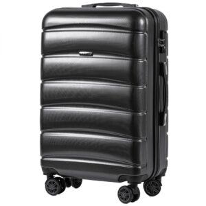Средний чемодан (M) Wings 160   поликарбонат   темно-серый   64x44x26 см   62 л   3,15 кг