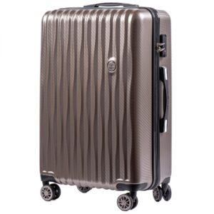 Средний чемодан (M) Wings 5223   поликарбонат   бронзовый   64x44x26 см   62 л   3,15 кг