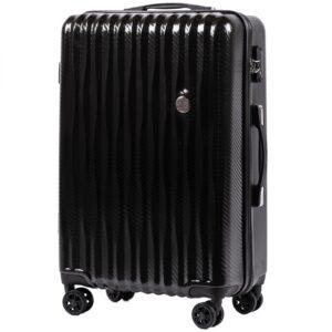 Средний чемодан (M) Wings 5223   поликарбонат   черный   64x44x26 см   62 л   3,15 кг