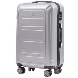 Средний чемодан (M) Wings 175   поликарбонат   серебряный   64x44x26 см   62 л   3,15 кг