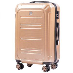 Средний чемодан (M) Wings 175   поликарбонат   шампань   64x44x26 см   62 л   3,15 кг
