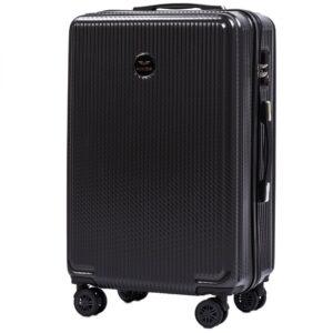 Средний чемодан (M) Wings 565   поликарбонат   темно-серый   64x44x26 см   62 л   3,15 кг