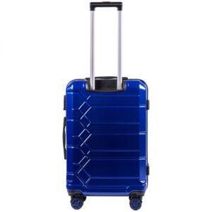 Комплект чемоданов на 4 колесах | Wings 185 | поликарбонат