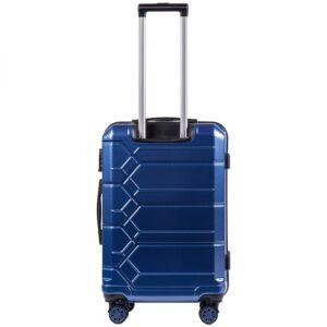 Средний чемодан (M) Wings 185   поликарбонат   темно-синий   64x44x26 см   62 л   3,15 кг