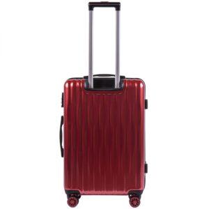 Средний чемодан (M) Wings 5223   поликарбонат   бордовый   64x44x26 см   62 л   3,15 кг