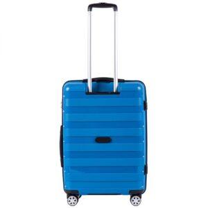 Средний чемодан (M) Wings PP07 | полипропилен | синий | 64x44x26 см | 62 л | 3,15 кг
