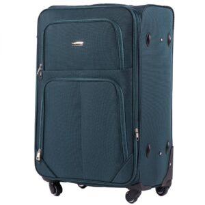 Большой чемодан (L) Wings 214-4k | тканевый