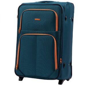 Большой чемодан (L) Wings 214-2k | тканевый
