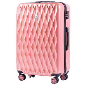 Большой чемодан (L) на 4 колесах | Wings 190 | поликарбонат