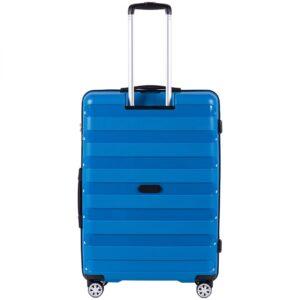 Большой чемодан (L) на 4 колесах | Wings PP07 | полипропилен