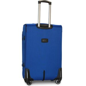 Большой чемодан (L) на 4 колесах   Fly 1220-4k   тканевый