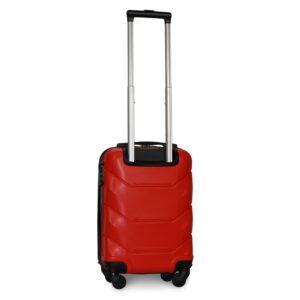 Мини чемодан (XS) Fly 147 | пластиковый | красный | 50x32x18 см | 27 л | 2,4 кг