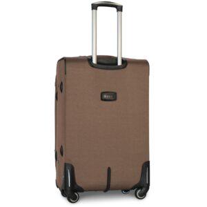 Большой чемодан (L) Fly 1220-4k | тканевый