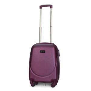 Мини чемодан (XS) Fly 310-F | пластиковый | темно-фиолетовый | 50x32x18 см | 27 л | 2,4 кг