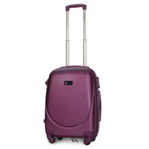 Маленький чемодан (S) Fly 310-F | пластиковый | темно-фиолетовый | 55x40x20 см | 35 л | 2,6 кг