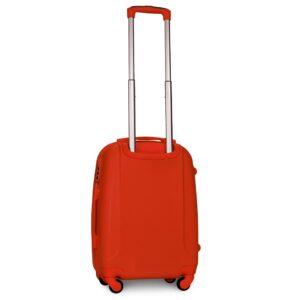 Маленький чемодан (S) Fly 310-F | пластиковый | оранжевый | 55x40x20 см | 35 л | 2,6 кг