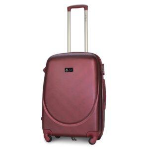 Средний чемодан (M) Fly 310-F | пластиковый | бордовый | 64x44x26 см | 62 л | 3,15 кг