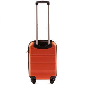 Мини чемодан (XS) Wings AT01 | пластиковый | оранжевый | 50x32x18 см | 27 л | 2,4 кг