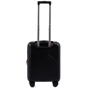 Маленький чемодан (S) Wings WN01 | ABS + поликарбонат | черный | 55x40x20 см | 35 л | 2,6 кг