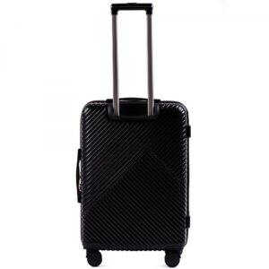 Средний чемодан (M) Wings WN01   ABS + поликарбонат   черный   64x44x26 см   62 л   3,15 кг