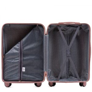Большой чемодан (L) Wings WN01 | ABS + поликарбонат