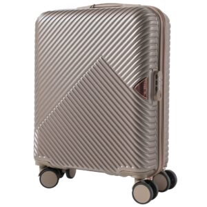 Маленький чемодан (S) Wings WN01 | ABS + поликарбонат | шампань | 55x40x20 см | 35 л | 2,6 кг