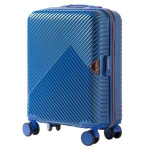 Маленький чемодан (S) Wings WN01 | ABS + поликарбонат | синий | 55x40x20 см | 35 л | 2,6 кг