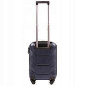Мини чемодан (XS) Wings 147 | пластиковый | темно-синий | 50x32x18 см | 27 л | 2,4 кг