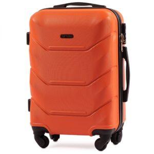 Маленький чемодан (S) Wings 147 | пластиковый | оранжевый | 55x40x20 см | 35 л | 2,6 кг