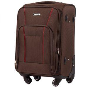 Маленький чемодан (S) Wings 1609-4k | тканевый