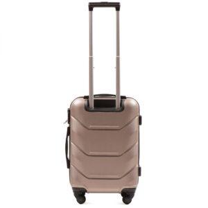 Маленький чемодан (S) Wings 147 | пластиковый | шампань | 55x40x20 см | 35 л | 2,6 кг