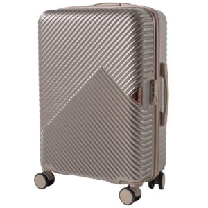 Средний чемодан (M) Wings WN01   ABS + поликарбонат   шампань   64x44x26 см   62 л   3,15 кг