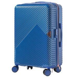 Средний чемодан (M) на 4 колесах | Wings WN01 | ABS + поликарбонат