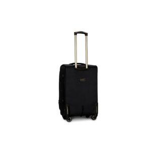 Средний чемодан (M) Fly 1807-4k   тканевый   черный   64x43x28(+5) см   64/76 л   3,75 кг