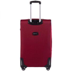 Большой чемодан (L) на 4 колесах   Wings 214-4k   тканевый