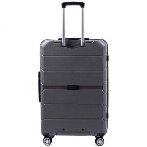 Большой чемодан (L) Wings PP05 | полипропилен