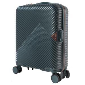 Маленький чемодан (S) Wings WN01 | ABS + поликарбонат | темно-зеленый | 55x40x20 см | 35 л | 2,6 кг