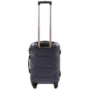 Маленький чемодан (S) Wings 147 | пластиковый | темно-синий | 55x40x20 см | 35 л | 2,6 кг