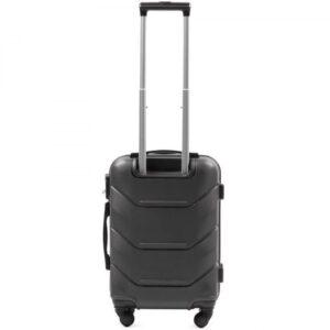 Маленький чемодан (S) Wings 147 | пластиковый | темно-серый | 55x40x20 см | 35 л | 2,6 кг