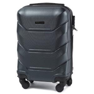 Мини чемодан (XS) Wings 147 | пластиковый | темно-зеленый | 50x32x18 см | 27 л | 2,4 кг