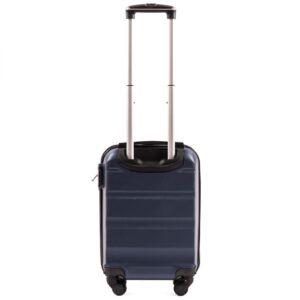 Мини чемодан (XS) на 4 колесах | Wings AT01 | пластиковый | для ручной клади